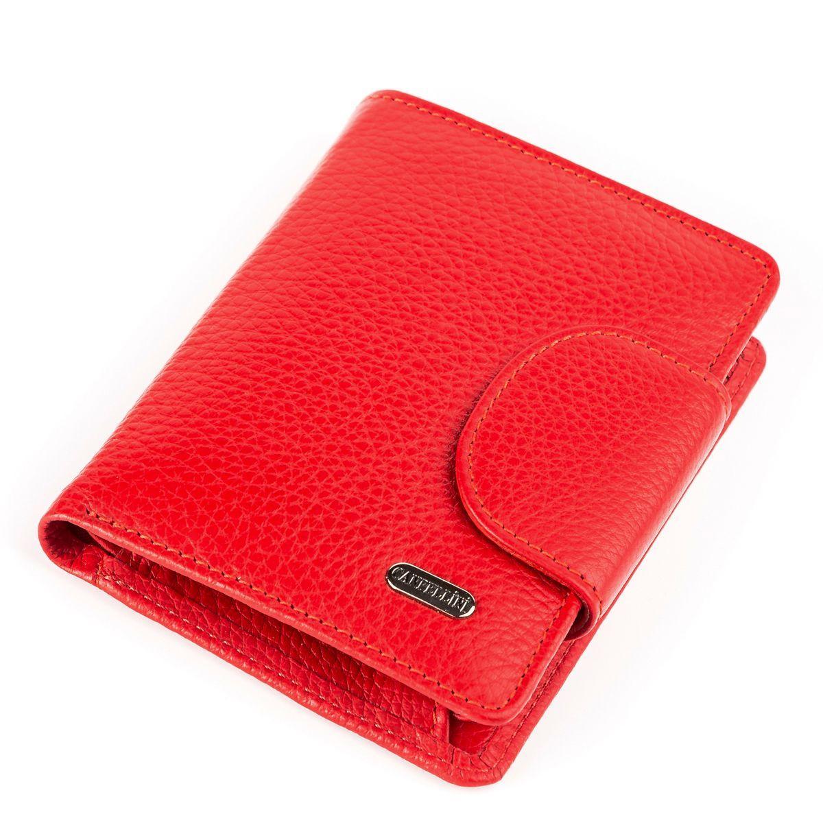 Кошелек женский CANPELLINI 17054 кожаный Красный, Красный