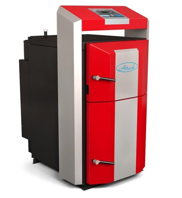 Газогенераторний котел для економного та екологічного опалення ATTACK DP PROFI (АТАК ДП ПРОФІ) 35 кВт