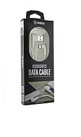 Дата-кабель Inkax СК-48|2.1A|100см угловой белый