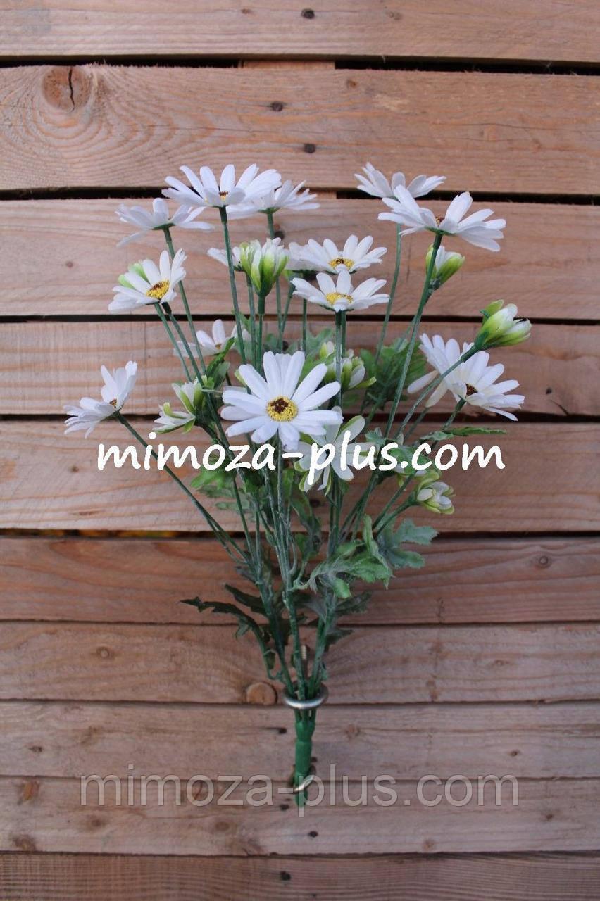Искусственные цветы - Ромашка ветка, 47 см