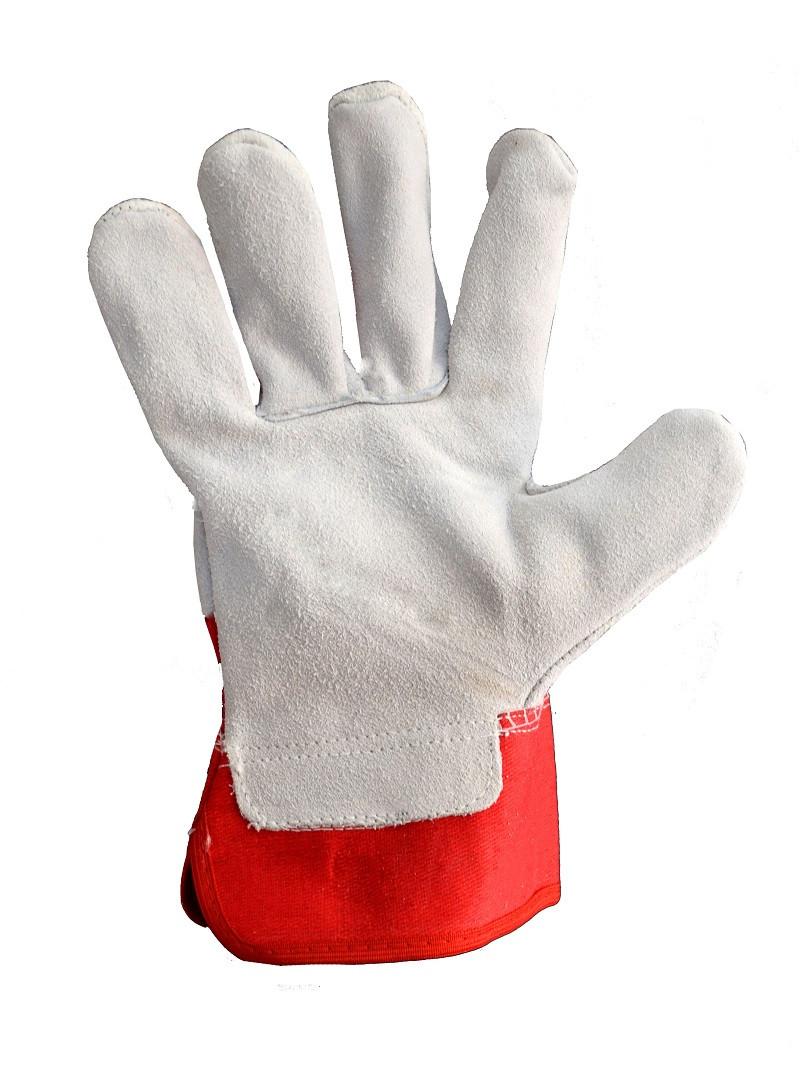 Перчатки спилковые Canada Trident
