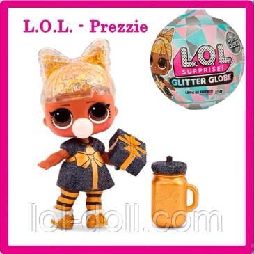 Кукла Подарочек LOL Surprise Winter Disco Globe - Prezzie Лол Сюрприз Оригинал