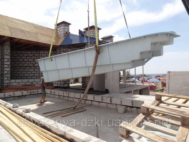 Пентхаус с бассейном водоизмещением 40т, ЮБК