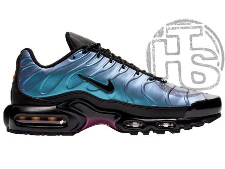 Мужские кроссовки Nike Air Max Plus Throwback Future Black/Laser Fuchsia AJ2013-006, фото 2