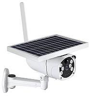 Аккумуляторная IP камера видеонаблюдения 6WTYN 2 mp с солнечной панелью  + крепление (6977)