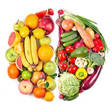 Овочі, фрукти та гриби