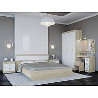 Спальня Соната комплект 12 Эверест Дуб Сонома + Белый