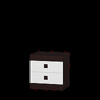 Спальня Соната комплект 12 Эверест Венге темный + Белый