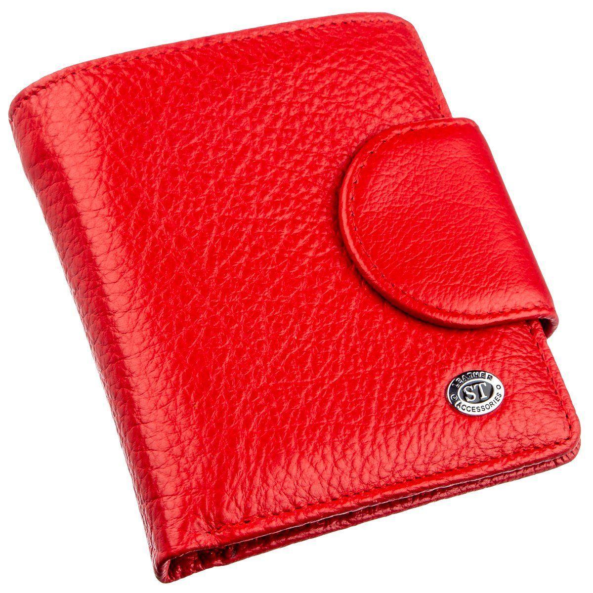 Оригинальный женский бумажник ST Leather 18923 Красный, Красный