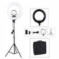✅Кольцевая лампа 36 см на штативе 2 м / кільцева лампа / кольцевой свет 36 см
