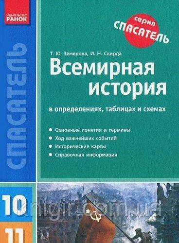 Всемирная история 10-11 кл. в определениях, таблицах и схемах (рус)