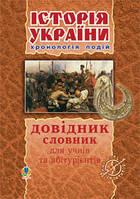 Історія України Довідник- словник для учнів та абітурієнтів