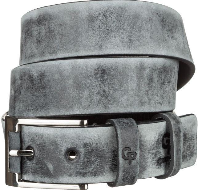 Ремень мужской Grande Pelle 11050 Серый, Серый