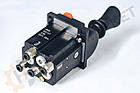 Джойстик пневматический повышенного качества на 3 позиции со свичем Optima, фото 7