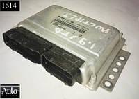 Электронный блок управления (ЭБУ) Fiat Multipla 1.9D 00г (166A600)