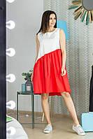 Женское свободное летнее платье на каждый день