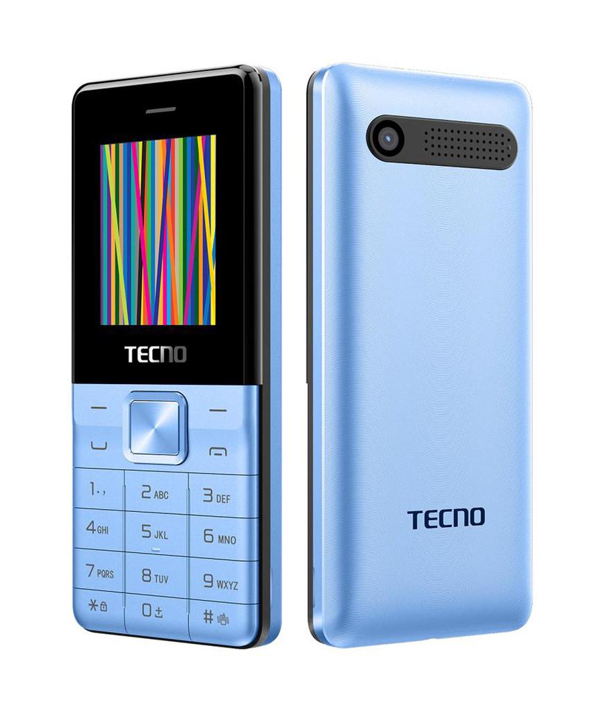 Мобільний телефон Tecno T301 Dual Sim Blue (Синій)