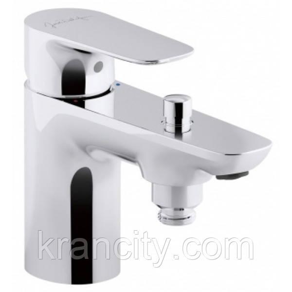 Cмеситель для ванны Jacob Delafon Aleo E72284-CP,кран врезной на борт ванны