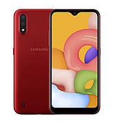 Смартфон Samsung Galaxy A01 (A015F) 2 / 16GB Dual SIM Red (Красный)
