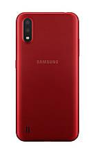 Смартфон Samsung Galaxy A01 (A015F) 2 / 16GB Dual SIM Red (Красный), фото 3