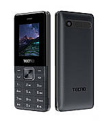 Мобильный телефон Tecno T301 Dual Sim Black (Черный)