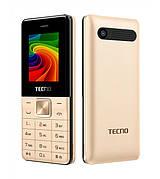 Мобильный телефон Tecno T301 Dual Sim Gold (Золотистый)