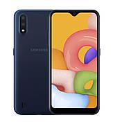 Смартфон Samsung Galaxy A01 (A015F) 2 / 16GB Dual SIM Blue (синий)