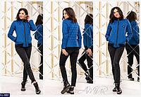 Женская стильная куртка норма и ботал