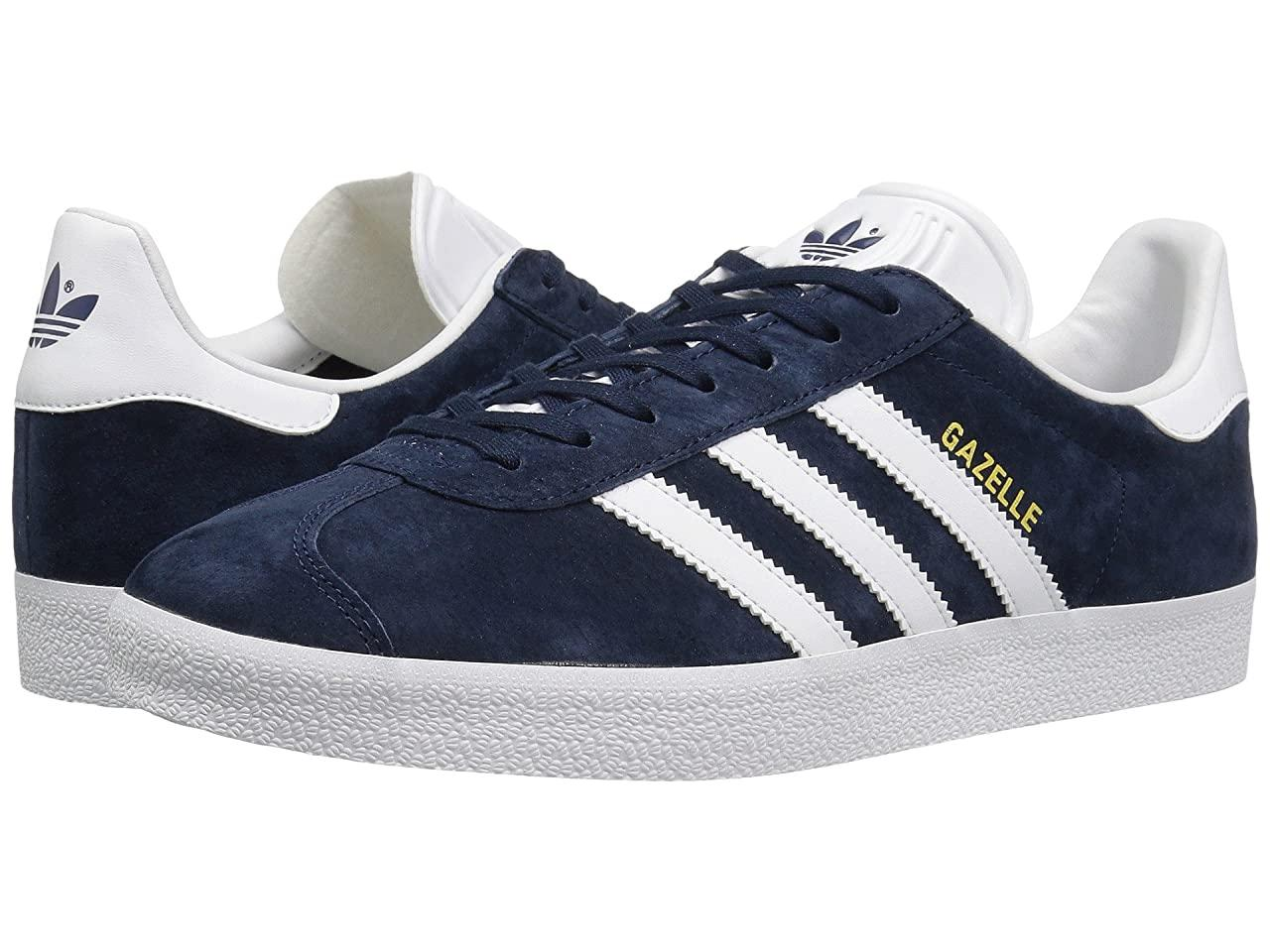 Кроссовки/Кеды (Оригинал) adidas Originals Gazelle Foundation Collegiate Navy/White/Gold Metallic