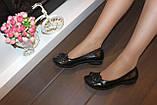 Туфлі жіночі чорні натуральна шкіра Т46, фото 10