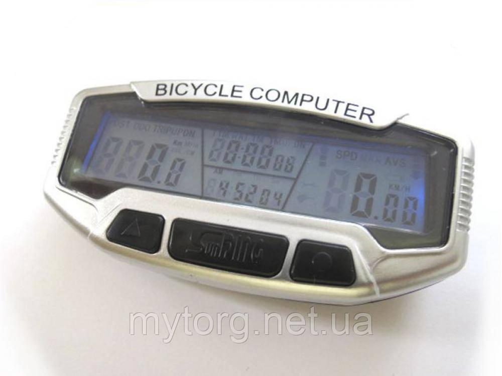 Велокомпьютер с подсветкой SD-558A.