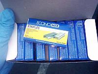 Скобы для степлера канцелярского №24 Е40302 Economix (10шт)