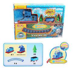"""Детская железная дорога """"Thomas-трансформер"""" управляется жестами, музыка"""