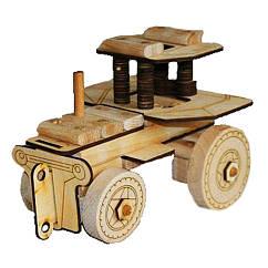 Деревянный конструктор Трактор