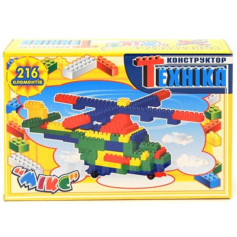 Детский конструктор Микс-Техника Промтекс (216 деталей)