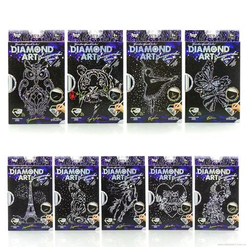 Набор для творчества Бриллиантовая мозаика DIAMOND ART