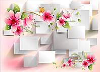 Картина на акриловому склі (Квіти) Код-10462К