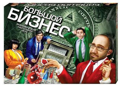 Настольная игра экономическая Большой бизнес Danko Toys DTG1-R