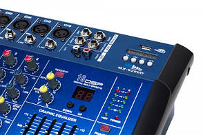 Аудіо підсилювач, dj пульт, мікшери Yamaha BT 6200D 6 канальний, фото 3