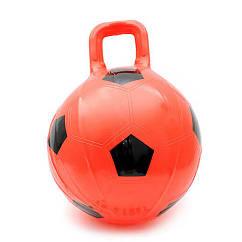 Детский мяч для фитнеса с ручкой (фитбол)