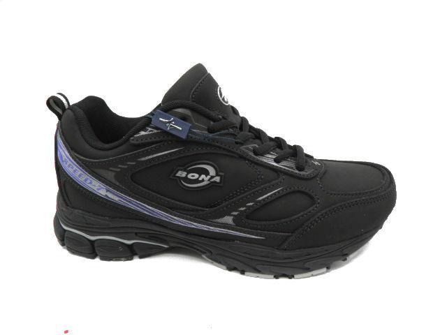 Кросівки підліткові * Bona 731-2 D чорний *24557