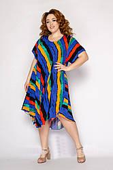 Платье женское летнее трикотажное размеры 54-58
