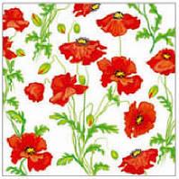 Салфетка La Fleur маковое полотно