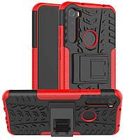 Чохол Armor для Xiaomi Redmi Note 8T бампер протиударний Red