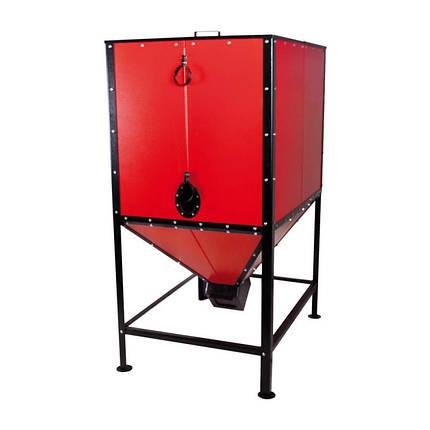 Бункер для твердопаливного котла Thermo Alliance Vulcan SF 0,6 куб. м, фото 2