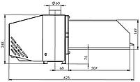 Пеллетная горелка Bioprom AIR Pellet 50 кВт, фото 3