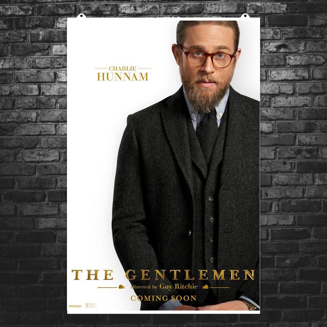 """Постер """"Джентльмены. The Gentlemen (2019)"""". Вариант №5. Размер 60x40см (A2). Глянцевая бумага"""
