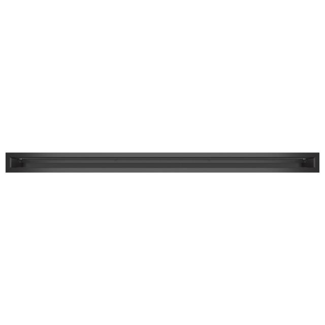 Вентиляційна решітка для каміна SAVEN Loft 60х1000 графітова