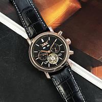 Мужские механические часы Jaragar 540 Black-Cuprum-Black с автоподзаводом