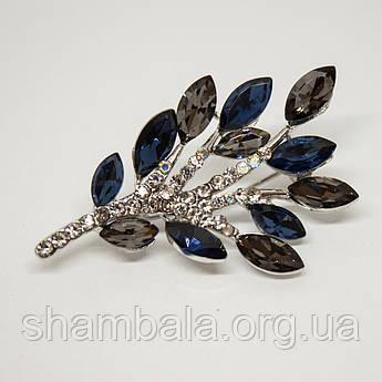 """Брошка Xuping Jewelry """"Гілка"""" (71312)"""